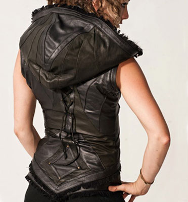 Anahata Designs Womens Victory Leather Jacket : Delicious Boutique