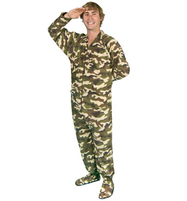 Home > Men's Footed Pajamas > Page 1 of 1. Men's Footed Pajamas. Sort By: Blue Camouflage Footless Pajamas with Hoodie - *LIMITED SIZES* $ $ Sale. Mens Footie Pajamas Alien Abduction Drop Seat - *LIMITED SIZES* $ $ Penguin Footed Pajamas with Drop Seat, Long Night Cap, and Scarf.