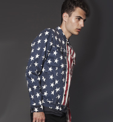 Lip Service Stars and Stripes Trucker Jacket | Delicious Boutique
