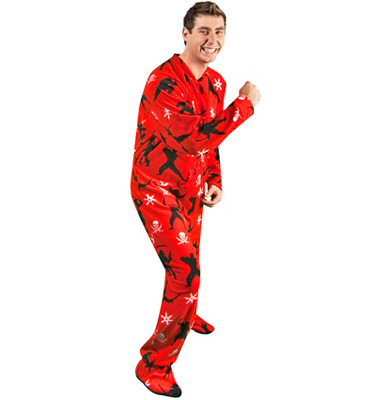 Footie Factory Pirates vs Ninjas Footie Pajamas   Delicious Boutique 7f5b6d7d7