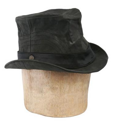 858483398e7 Heathen Tip Top Classic Leather Top Hat   Delicious Boutique