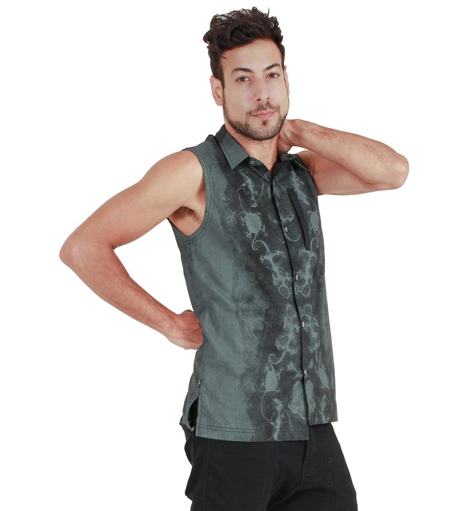 f7e10a3b24e Psylo Moudy Sleeveless Shirt   Delicious Boutique